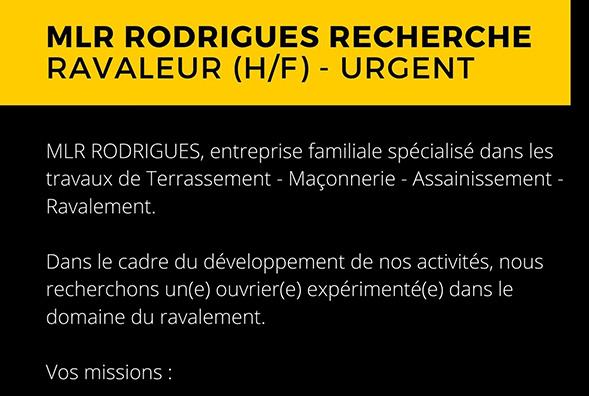Ravaleur (h/f) - urgent